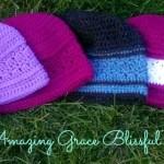 Amazing Grace Blissful Beanie ~ New Free Crochet Pattern