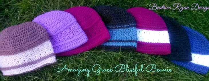 Amazing Grace Blissful Beanie ~ New Free Crochet Pattern