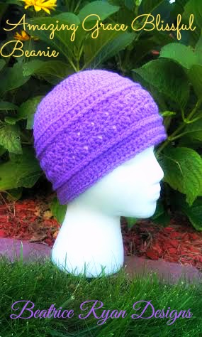Amazing Grace Blissful Beanie solid