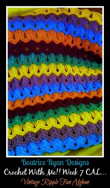 Week 7 Crochet with Me