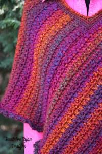 Effortless Poncho Stitching