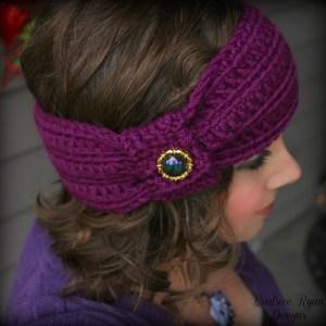 Wintertide Headband… Free Crochet Pattern!!!