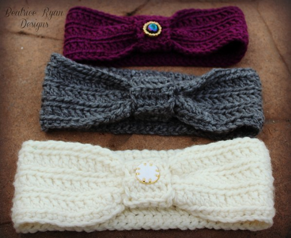 Wintertide Headbands Free Pattern