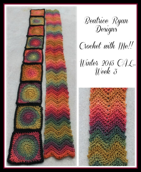 Crochet with Me!! Winter 2015 CAL Week 3 Unforgetable