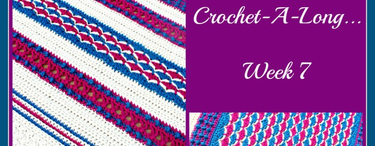 Crochet with Me!!! Crochet-A-Long… Week 7!!