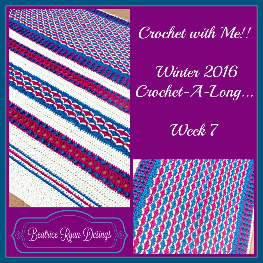 Crochet with Me!! Week 7