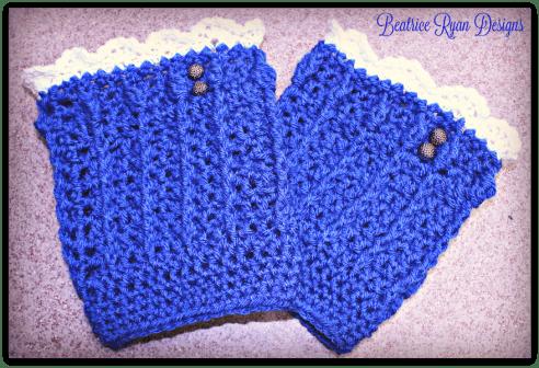 Denim Diva Boot Cuff's... Free Crochet Pattern!!