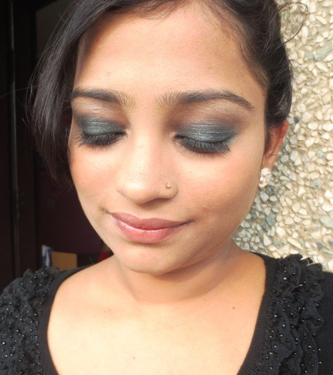 mascara, bb cream, kohl, kajal,Smokey Eyes Makeup For Night Party, Smokey Eyes, Makeup For Night Party,