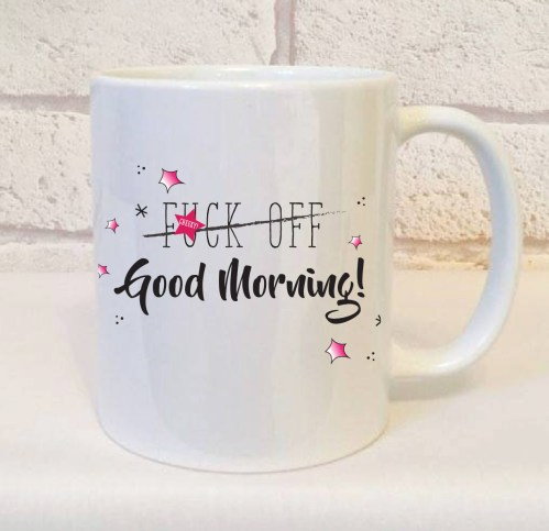 Medium Of Good Morning Coffee Mug Images