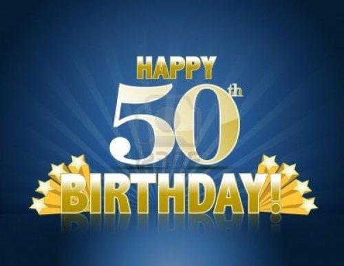 Medium Of Happy Birthday 50