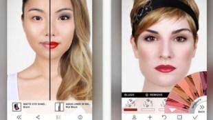 Aplicativos para ajudar na maquiagem