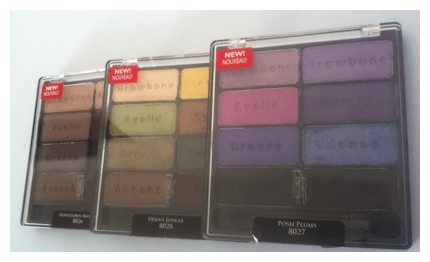 black radiance 8 pan group final Black Radiance 8 Pan Palette Swatches