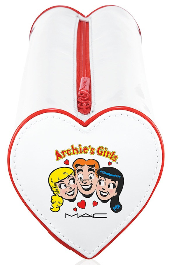 ArchiesGirls Accessories JustaFlirtMakeupBag 72 Introducing MAC Archie Girls Collection