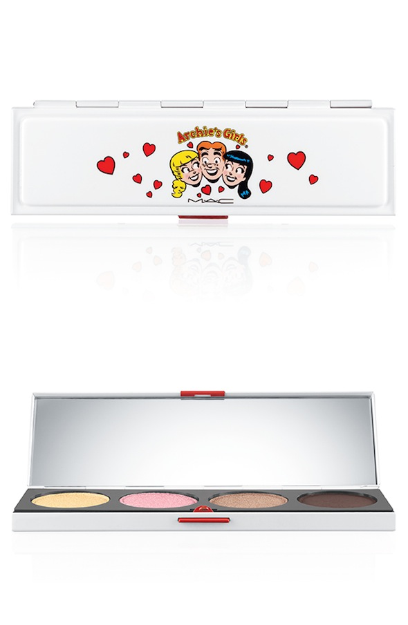 ArchiesGirls EyeShadowX4 CaramelSundae 72 Introducing MAC Archie Girls Collection