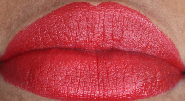mac Eden Rouge lip swatch MAC Style Seeker Swatches