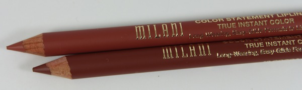 milani color statement lip liner 09 10 close New Milani Color Statement Natural and Brown Lipsticks