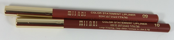 milani color statement lip liner natural and brown New Milani Color Statement Natural and Brown Lipsticks