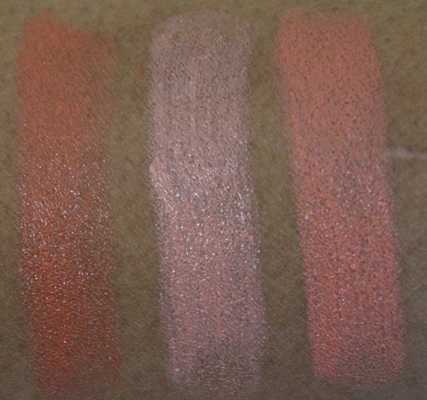 MAC all about orange lipstick swatches MAC All About Orange Swatches