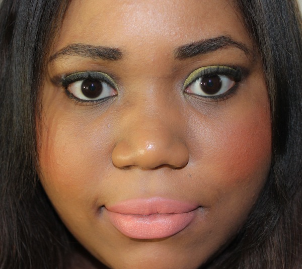 MAC sushi kiss lipstick full face MAC All About Orange Swatches