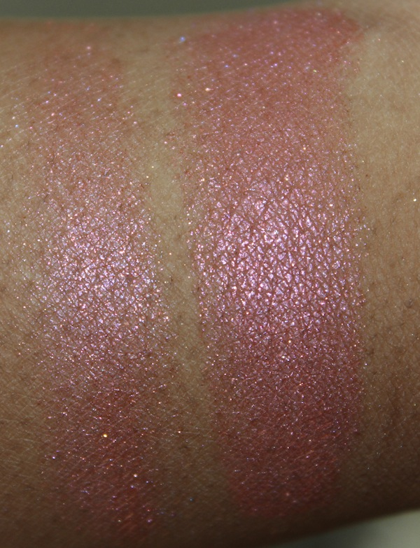 mac caribbean swatch MAC Tropical Taboo Swatches