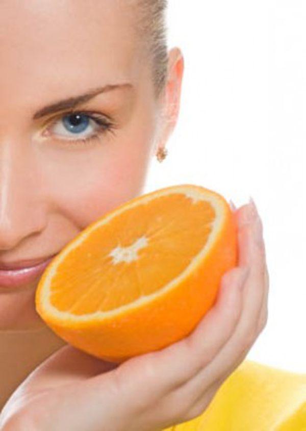 Beauty benefits of orange
