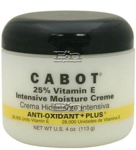 Cabots vitamin E creme intensive skin cream