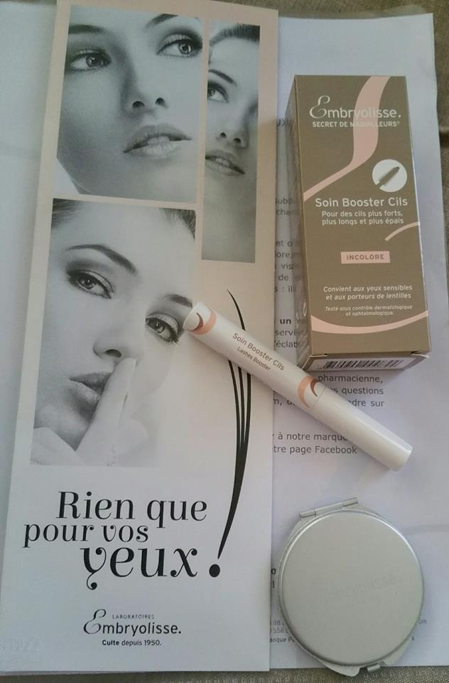 Soin booster cils d'Embryolisse !