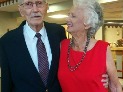 Never too Young for Love: Delores, 89 years young marries Bill, age 90