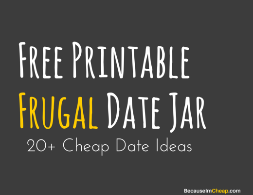 free printable frugal date jar