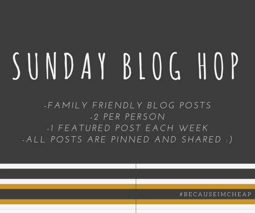 Sunday Blog Hop Rules