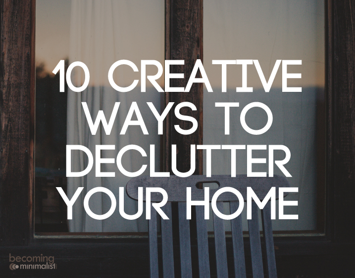 10 creative ways to declutter your home for Minimalist moving house
