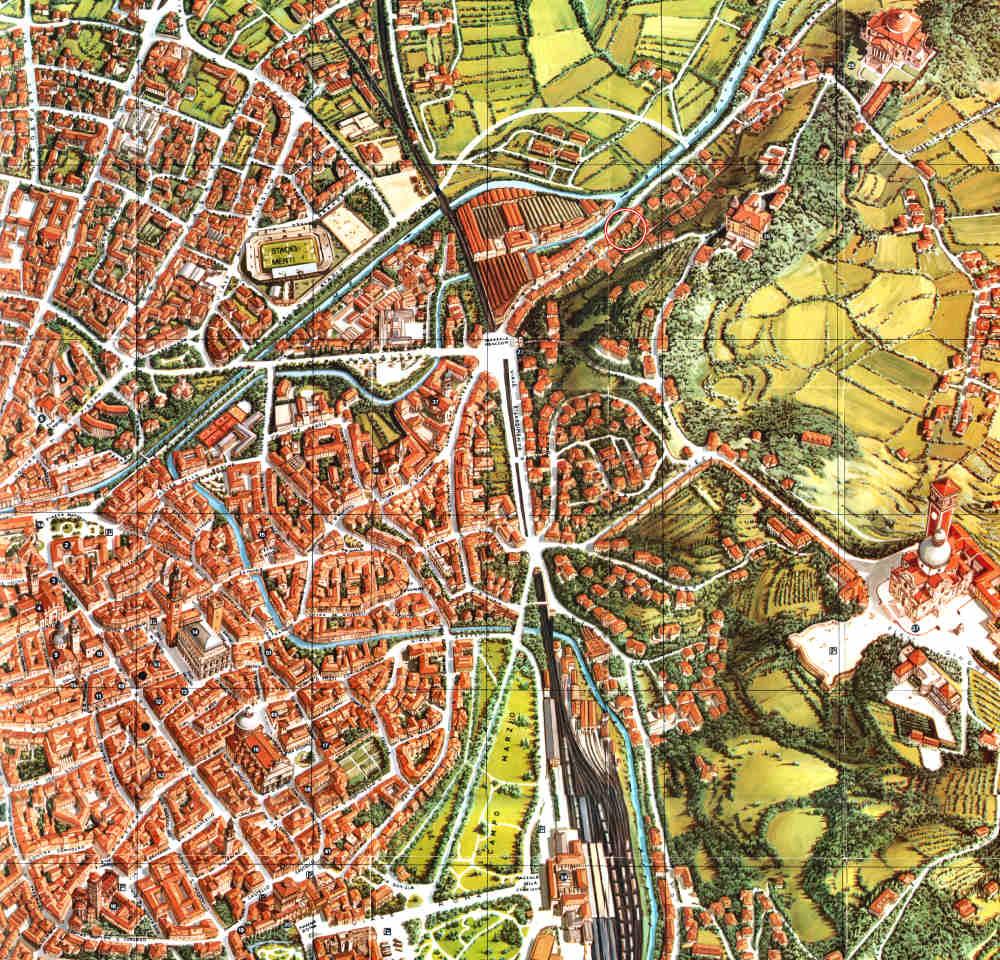 map vicenza