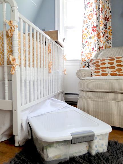 Astuce pour gagner de la place ranger sous le lit bee - Bac rangement plastique sous lit ...