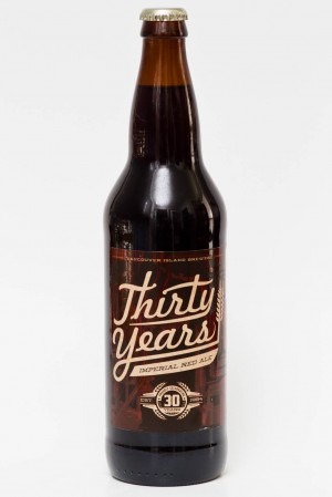Vancouver Island Brewery 30th Anniversary Imperial Red Ale Review