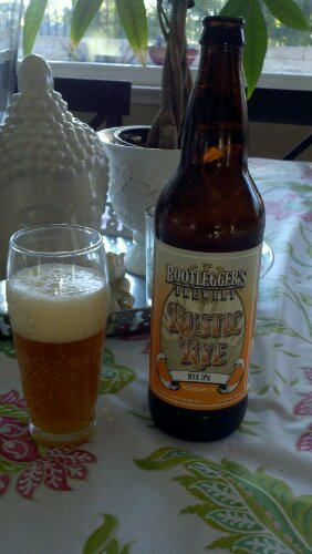 Bootleggers Brewery Rustic Rye