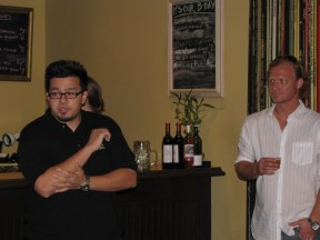 Jason from Bier Buzz and Dieter from Angel City
