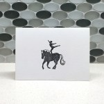 Vaulting Note Card