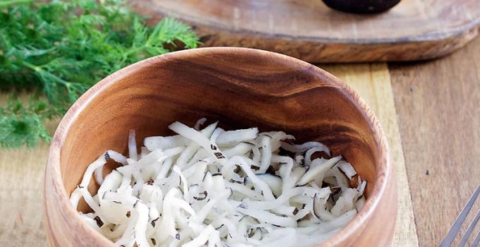 Lacto Fermented Black Radish {Food + Medicine}