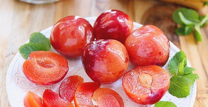 Russian Brined Plums {My Favorite Ferment To-Date}