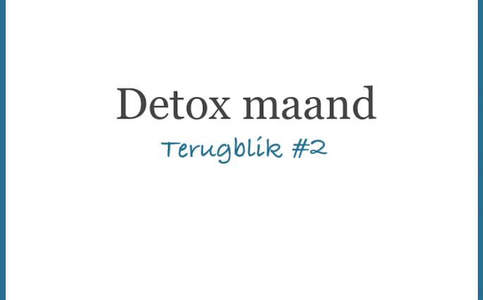 Detoxmaand Terugblik 2