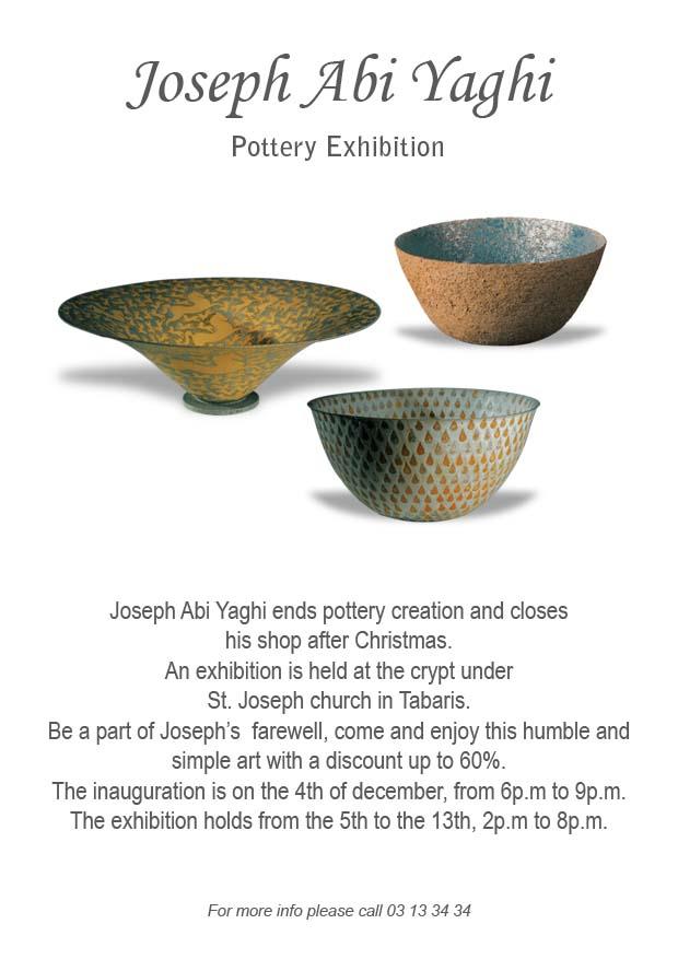 Joseph Abi Yaghi Exhibition