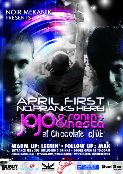 JoJo & Ronin+Nesta at Chocolate Club