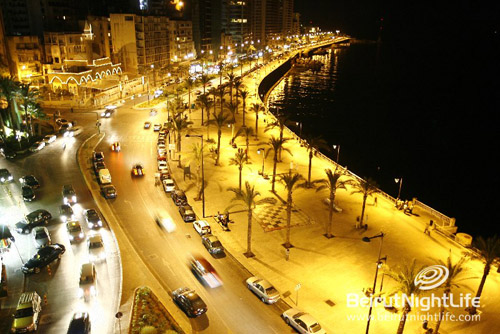 Ras Beirut From the Sky