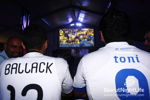 Beirut World Cup Fan Park- Germany VS Australia