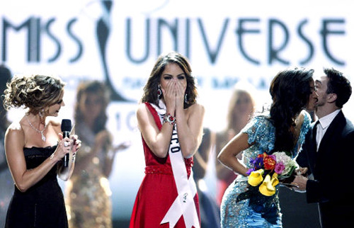 Miss Mexico Jimena Navarrete crowned Miss Universe 2010