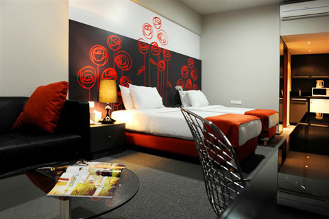 35 rooms, trendy hotel in town!