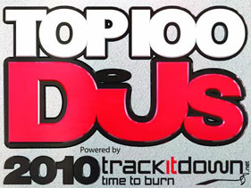 DJ Mag Top 100 DJs 2010 Results