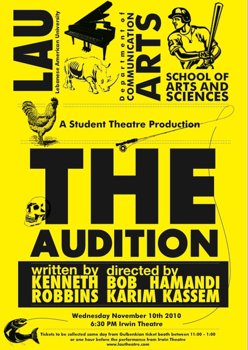 THE AUDITION -A Student Theatre Production-