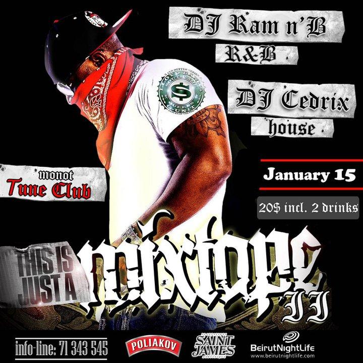 Mixtape II RnB Night At Tune