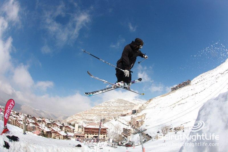 Up and Down the Slopes – Lebanon Ski Season